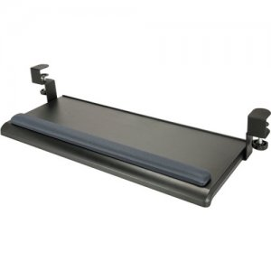 Aidata Extra-Wide Desk Clamp Keyboard Tray w/Gel Wrist Rest KB-1021