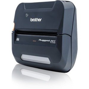 "Brother RuggedJet RJ4320BL 4"" Mobile Printer with Battery RJ4230BL"