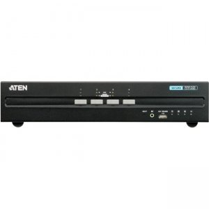 Aten 4-Port USB HDMI Dual Display Secure KVM Switch (PSS PP v3.0 Compliant) CS1144H
