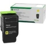 Lexmark Yellow Return Program Toner Cartridge 78C10Y0