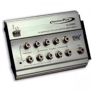 Linear PRO Access Channel Plus Bi-directional RF Distribution Amplifier DA-550BID