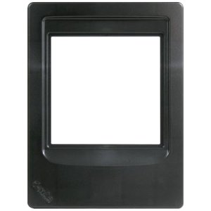 m&s Systems : Room Station Retrofit Mounting Frame (Black) DMCFRB