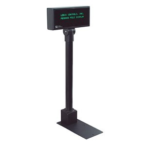 Logic Controls Pole Display PD3900-PT-BK PD3900-PT