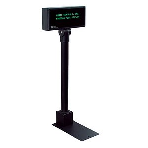 Logic Controls Pole Display PD3000-U-BK PD3000U