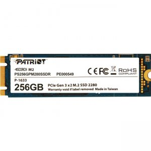 Patriot Memory Scorch M.2 2280 PCIe SSD PS256GPM280SSDR
