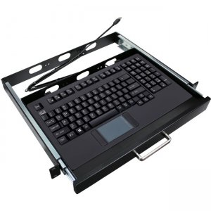 Adesso Easy Touch 425 Rackmount Touchpad Keyboard AKB-425UB-MRP AKB-425UB