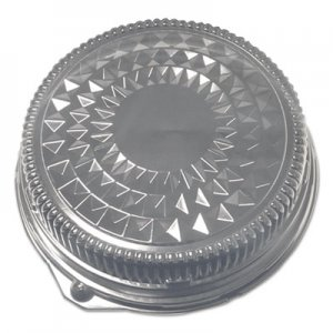 """Durable Packaging Dome Lids for 16"""" Cater Trays, 50/Carton DPK16DL 16DL"""