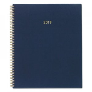 Cambridge Color Bar Weekly/Monthly Planners, 8 1/2 x 11, Navy, 2019 AAG107890558 107890558
