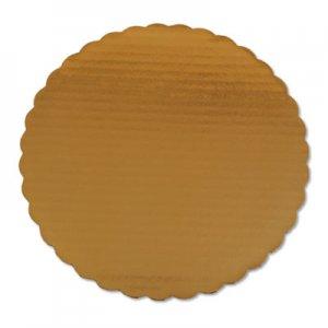 """SCT Cake Pads, 10"""" Dia, Gold, 200/Carton SCH1615 SCH 1615"""