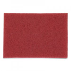 3M Buffer Floor Pads 5100, 20 x 14, Red, 10/Carton MMM59258 5100