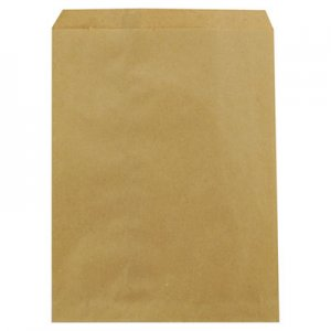 "Duro Bag Kraft Paper Bags, 8.5"" x 11"", Brown, 2,000/Carton BAGMK85112000 14852"