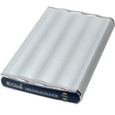 Buslink USB 2.0/eSATA 7200rpm Disk-On-The-Go External Slim Hard Drive DL-1T-U2SZ