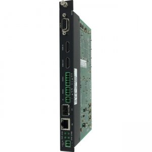 AMX H.264 Compressed Video over IP Encoder, PoE, SFP, HDMI, USB for Record, Card FGN3132-CD NMX-ENC-N3132