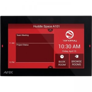 "AMX 7"" Acendo Book Scheduling Touch Panel FG4221-07 ACB-2107"