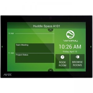 "AMX 10.1"" Acendo Book Scheduling Touch Panel FG4221-10 ACB-2110"