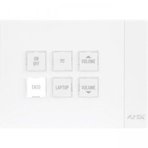 AMX Massio 6-Button ControlPad (US, UK, EU) FG2102-06P-W MCP-106