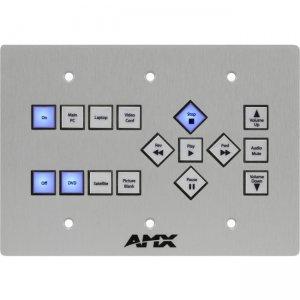 AMX 16-Button KeyPad (US) With AxLink FG1311-16-SA SP-16-AX-TR-US