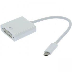 Unirise USB Type C To DVI-I Dual Link Female Adapter USBC-DVIF-ADPT