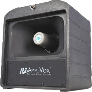 AmpliVox Mega Hailer PA w/ Headset and Lapel Microphone SW680