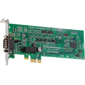 Brainboxes 1 Port RS422/485 Low Profile PCI Express Serial Card Opto Isolated PX-376