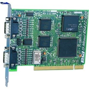 Brainboxes 2 Port RS422/485 PCI card up to 18 MegaBaud CC-525