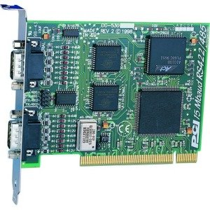 Brainboxes 2 Port RS422/485 PCI card up to 15 MegaBaud CC-530
