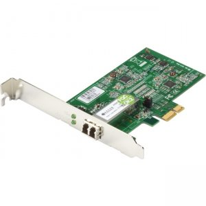 Black Box Network Interface Adapter - PCIE, 1000BASE-SX, LC LH1690C-LC-R2