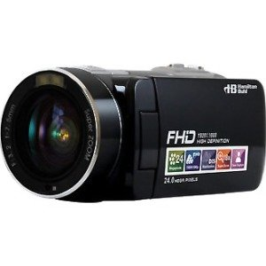 Hamilton Buhl ActionPro 20MP, 8X Digital Zoom, FHD Digital Video Camera HDV17BK