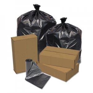"Pitt Plastics Can Liner, 16 gal, 0.4 mil, 32"" x 24"", Gray, 500/Carton PITRX331XG RX331XG"
