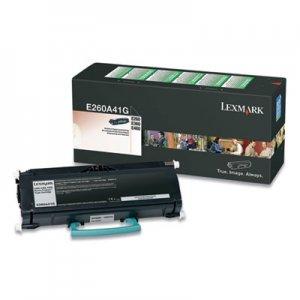 Lexmark E260; E360; E46x, Standard-Yield, Toner, 3500 Page-Yield, Black LEXE260A41G E260A41G