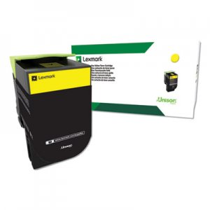 Lexmark C544; X44, Extra High-Yield, Toner, 4000 Page-Yield, Yellow LEXC544X4YG C544X4YG