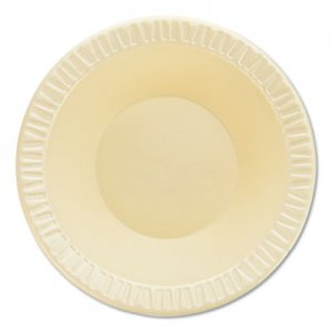 Dart Quiet Classic Laminated Foam Dinnerware, Bowl, 12 oz, 1000/Carton DCC12BWHQR 12BWHQR