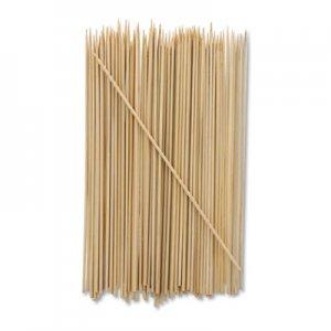 "AmerCareRoyal Bamboo Skewer, Cream, 8"", 19200/Carton RPPR808 RPP R808"