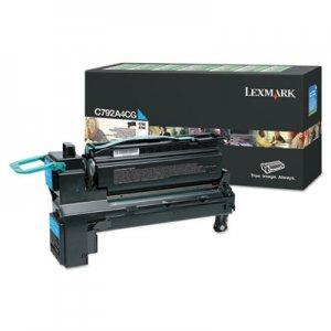 Lexmark C792, Standard-Yield, Toner, 17000 Page-Yield, Cyan LEXC792A4CG C792A4CG