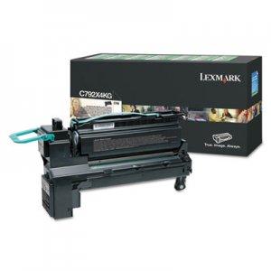Lexmark C792, Extra High-Yield, Toner, 17000 Page-Yield, Black LEXC792X4KG C792X4KG