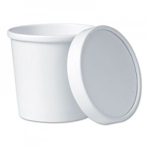 "Dart Flexstyle Food Lid Container, 3.6"" Dia., 12.1 oz, White, 250/Carton SCCKHB12A KHB12A-2050"
