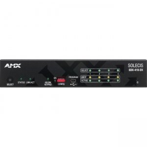 AMX Solecis 4x1 HDMI Digital Switcher with DXLink Output FG1010-304 SDX-410-DX