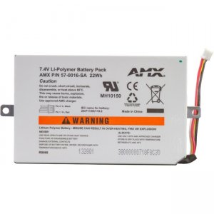 AMX Battery FG5966-01BAT MVP-BP-5X