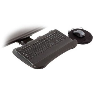 Innovative Compact Keyboard Arm with 19-inch Keyboard Tray with Swivel Mouse Tray 8493-8494 8494