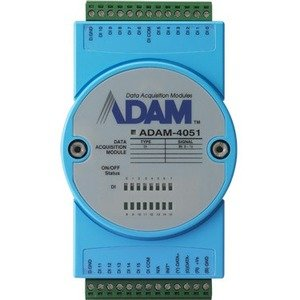 Advantech 16-Channel Isolated Digtal Input Module with LED & Modbus ADAM-4051-BE