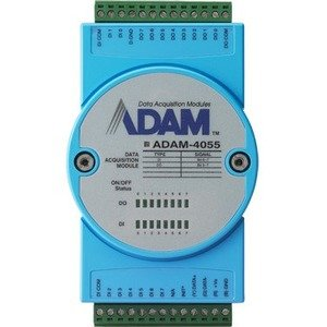 Advantech 16-Channel Isolated Digtal Input Module with LED & Modbus ADAM-4055-BE