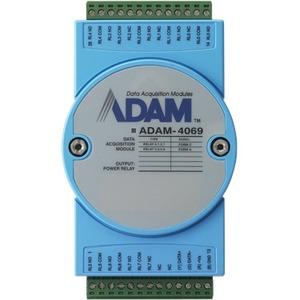 Advantech 8-ch Power Relay Output Module with Modbus ADAM-4069-AE