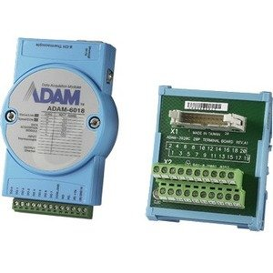 Advantech 8-ch Isolated Thermocouple Input Modbus TCP Module with 8-ch DO ADAM-6018-BE ADAM-6018