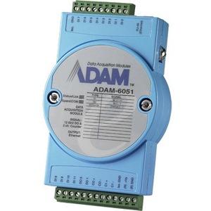Advantech 14-ch Isolated Digital I/O Modbus TCP Module with 2-ch Counter ADAM-6051-CE ADAM-6051