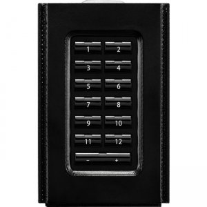 AMX Metreau 13-Button AxLink Keypad Flat Kit FG554-12-BL-K HPX-U400-MET-13