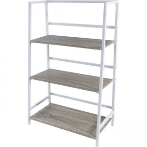 urb SPACE Folding 3-Tier Shelf - White/ Gray 38450336