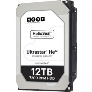 HGST Ultrastar He12 w/ 3.5 in. Drive Carrier 1EX1007