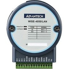 Advantech 4-channel Digital Input and 4-channel Digital Output IoT Ethernet I/O Module WISE-4050/LAN-AE