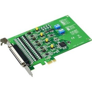 Advantech 4-port RS-232/422/485 PCI Express Communication Card w/Surge & Isolation PCIE-1612C-AE