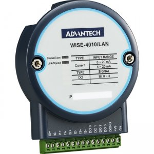 Advantech 4-channel Current Input 4-channel Digital Output IoT Ethernet I/O Module WISE-4010/LAN-AE